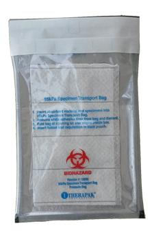 self-seal 95 kPa bags, UN3373 IATA bags